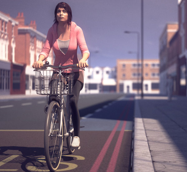 Cycle safety animations