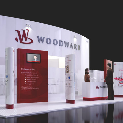 Woodward Exhibition Stand
